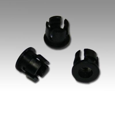 Led Mounting Hardware Led Holder Clip 3Mm Nylon Black (1 Piece)