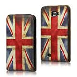 Retro Phone Co® - Retro Union Jack iPod iTouch/ iTouch 5 PU Leather Flip Case/ Wallet/Cover