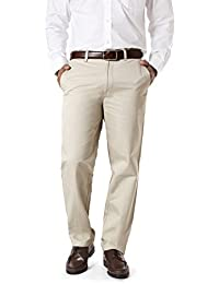 Modo Formal Chinos For Men Cream Trouser Regular Fit, 100% Cotton Formal Trousers For Men