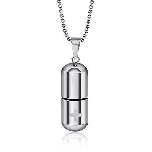 housweety-cremation-jewellery-stainless-steel-cross-bottle-perfume-bottle-urn-pendant-wish-necklace-