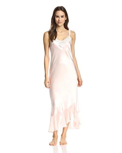 Oscar de la Renta Pink Women's Always A Bride Long Gown