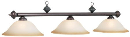 Buy Bargain RAM Gameroom Products RG360 ORB 3-Light Billiard Light – 60W in. oil-rubbed Bronze