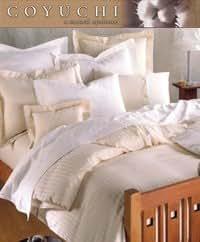 Coyuchi Percale Full/Queen Flat Sheet - White