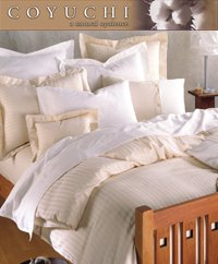 Coyuchi Percale Full/Queen Flat Sheet - White