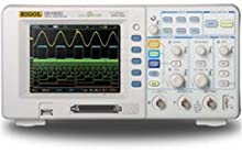 Rigol DS1102D 100MHz Mixed Signal Oscilloscope with 2 analog channels and 16 digital channels plus USB storage and connectivity and 1 GSa/sec sampling
