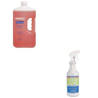 kitcpm01903eaitw33632-value-kit-dymon-liquid-alive-odor-digester-itw33632-and-softsoap-antibacterial