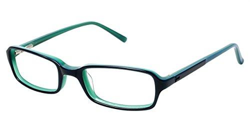 Ted Baker Men'S Optical Eyeglasses B924 Navy/ Green Size 46