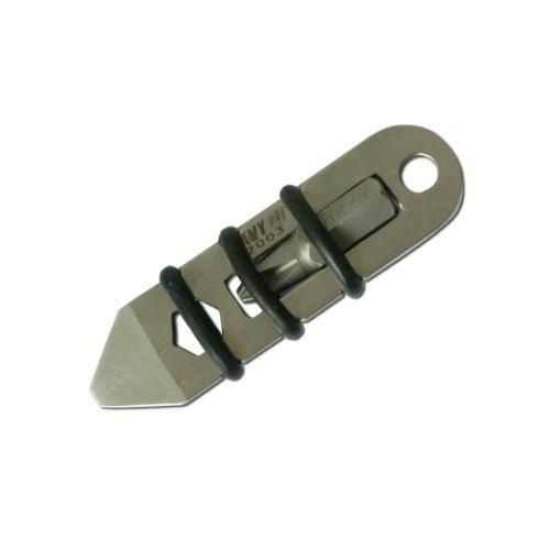 Navy 2003 Mini Multifuction Multi Pocket Fixed Blade Edc Pocket Knife Tool
