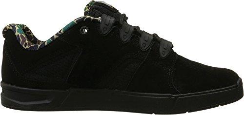 DC Men's Maddo Skate Shoe, Black Camo, 9.5 M US