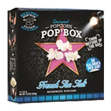 French Sea Salt Microwave Popcorn (2 Packs of 3 - 3.5 oz. each) (Popbox Popcorn compare prices)
