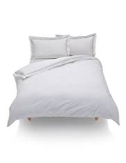 Autograph Pure Cotton Ladder Stitched Duvet Cover