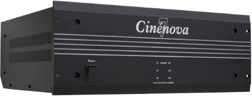 Earthquake Sound Cinenova 7 7-Channel Class A/B Amplifier (Black)