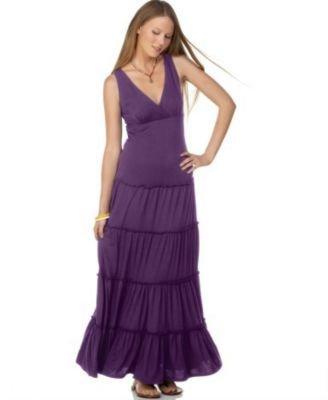 6 Degrees Solid Maxi Dress
