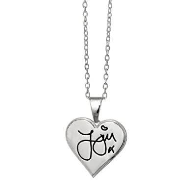 One Direction 'Zayn Signature' Heart Necklace