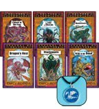 Beyond Deltora Quest 6-Book Set: Deltora Shadowlands, Books 1-3 and Dragons of Deltora, Books 1-3 (Cavern of the Fear, The Isle of Illusion, & The Shadowlands and Dragon's Nest, Shadowgate, & Isle of the Dead) (DRAGON PENDANT INCLUDED!) (0545084415) by Emily Rodda