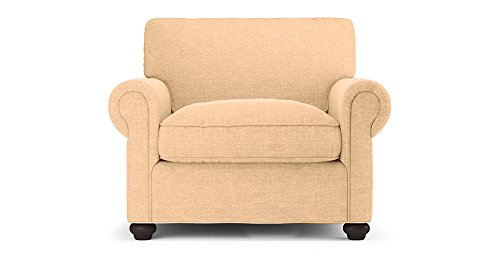 FabHomeDecor Charlotte Arm Chair (Light Camel)