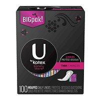 U by Kotex Curves Regular Panty Liners