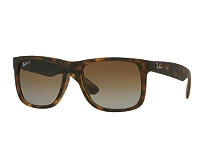 Ray-Ban Justin Sunglasses RB 4165 865/T5 55mm Polarized + SD Glasses + Kit