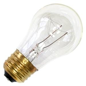 Westinghouse 0400300, 40 Watt, 120 Volt Clear Incand A15 Light Bulb, 2500 Hour 350 Lumen front-616730