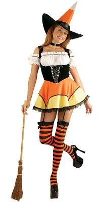 Candy Corn Witch Sexy Costume