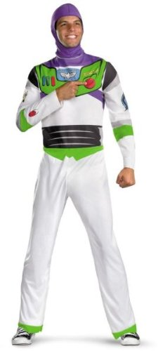 Buzz Lightyear Costume - X-Large - Chest Size 42-46