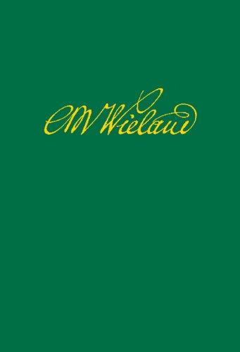 Wielands Briefwechsel: Band 11.2: Januar 1791 - Juni 1793. Anmerkungen