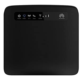 Huawei E5186S-22a LTE /4G Router, noir - 4-Port LAN; 300 Mbit/s WiFi