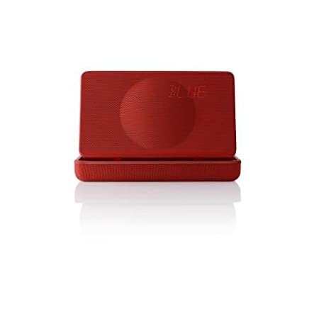 Geneva XS Enceinte Bluetooth/Jack Rouge Mat