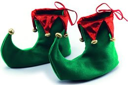 Deluxe Christmas Pointed Elf Shoes