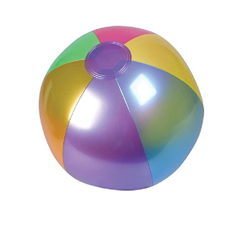 18in Metalic Beach Ball 1 Dozen [Misc.]