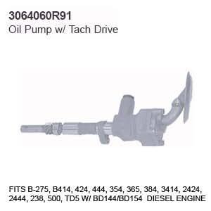 3064060r91 case tractor parts oil pump w. Black Bedroom Furniture Sets. Home Design Ideas