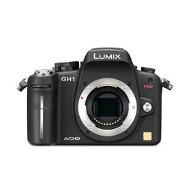 Panasonic DMC-GH1K 12.1MP Four Thirds Interchangeable Lens Camera & 1080p HD Video (Body).