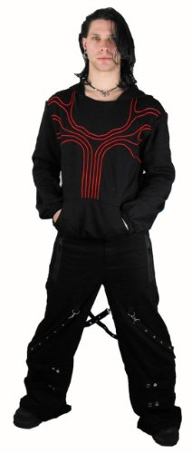 Necessary Evil Goth Slaine Trousers - X-Large