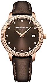 Raymond Brown Dial Ladies Watch