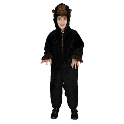 Kids Plush Gorilla Costume Set