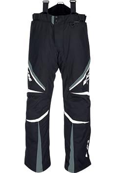 KOBUK iXS pantalon en tissu noir/gris/blanc-snowmobile
