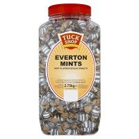 Tuck Shop qualité Confiserie Everton menthes 2,75 kg