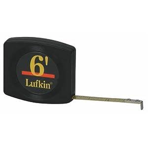 """Lufkin Handy Pocket Tape, 1/4"""" x 6'"""