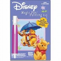 Disney Magic Pen Painting Book: Winnie the Pooh Book 1 - 1