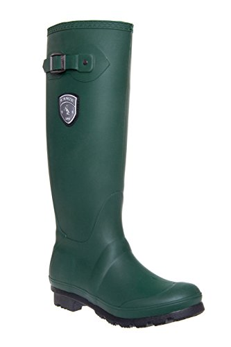 Jennifer Tall Low Heel Rain Boot