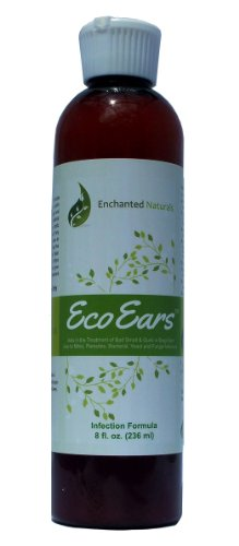 EcoEars Dog Ear Infection Formula & Cleaner - 8 oz.