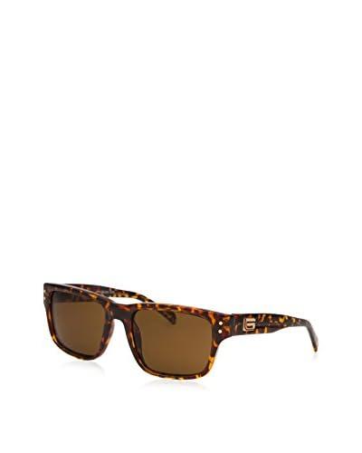 Guess Men's Rectangle Sunglasses, Tortoise/Brown
