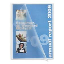 Sparco Products : Slide Bind Report Cover, 1/8\