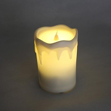 Mch-Warm Yellow Light Led Table Lamp Rechargeable Bar Ktv Wedding Or Party Gifts Light Instead Of Candle (Ac110-240V)