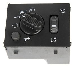 ACDelco D1595G GM Original Equipment Headlamp, Instrument Panel Dimmer, and Dome Lamp Switch