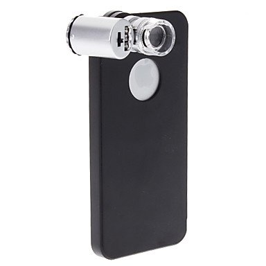 Gt Novelty Design Black Hard Case With Mini 60X High Magnification Digital Microscope For Iphone 5/5S