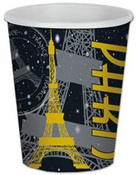 Paris Beverage Cups (Sold by 1 pack of 12 items) PROD-ID : 1906979