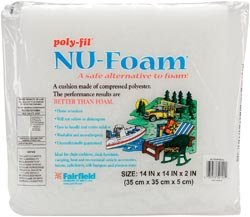 Fairfield Poly Fil Nu Foam Pre Cut 14