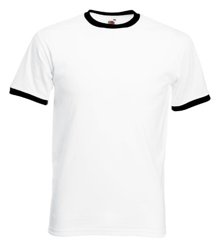 fruit-of-the-loom-tee-ringer-blanc-noir-m