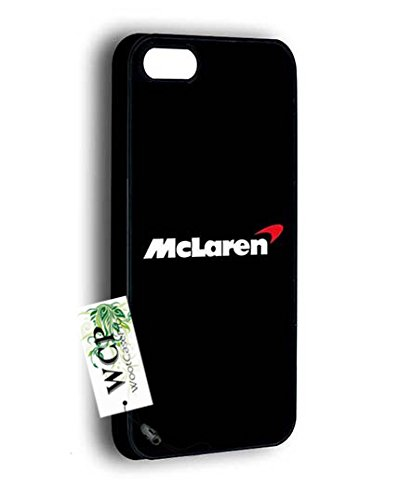 Trendy Iphone 5S Custodia Case, [Retail Packaging] McLaren Slim Fit Clear Back Cover for Iphone 5 - [Scratch Resistant]